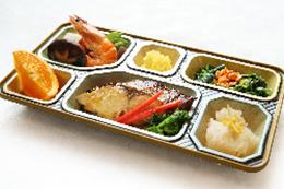 高齢者食弁当(ごはん付き)